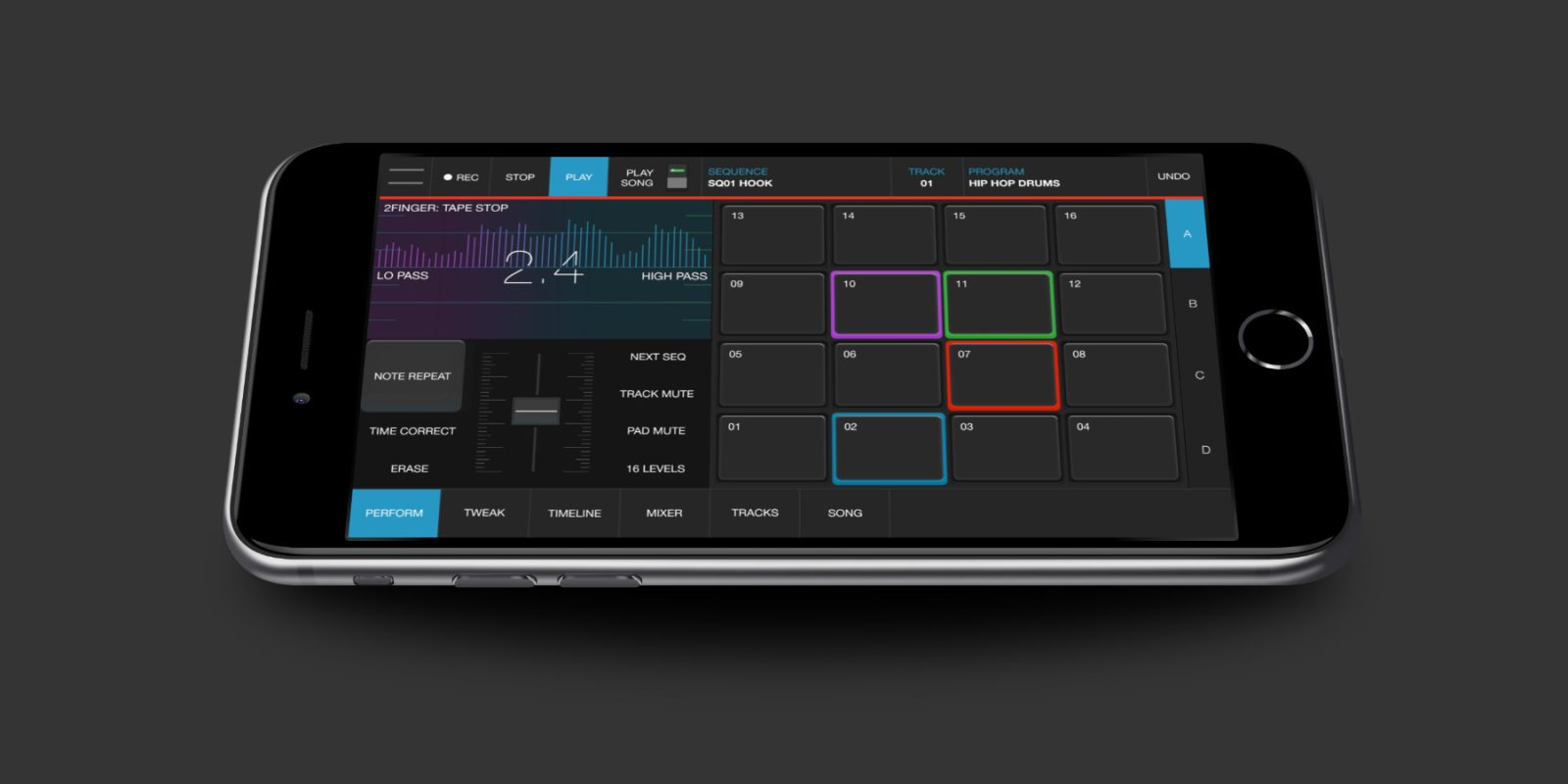 Akai's iMPC Pro 2 production app for iOS at nearly 50% off