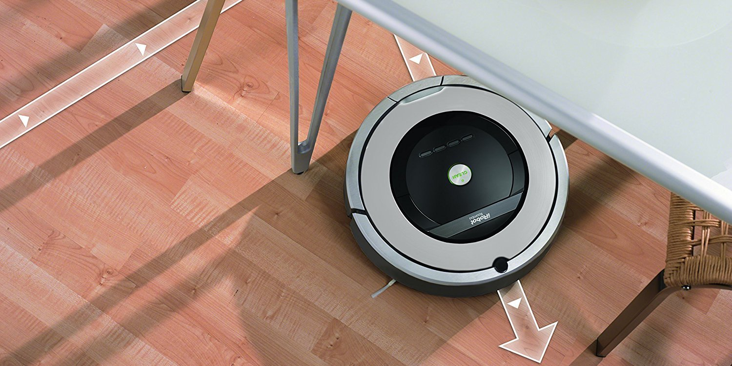 Today's Gold Box has the Roomba 860 Robo Vac down at $270 (Refurb, Orig. $500)