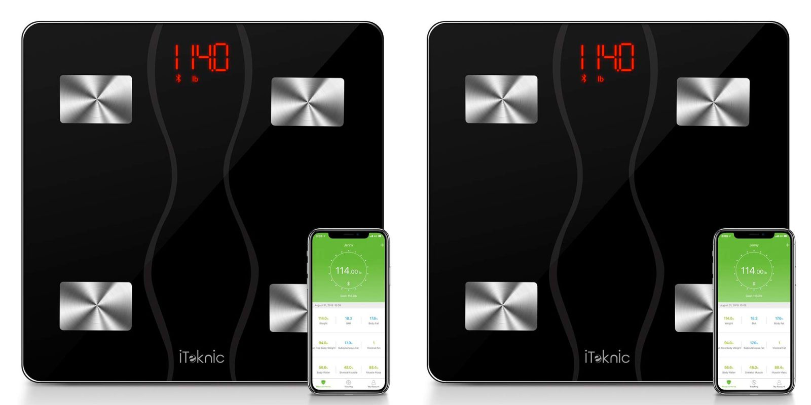 Summer's just around the corner, log your weight loss w/ a $19.50 smart scale