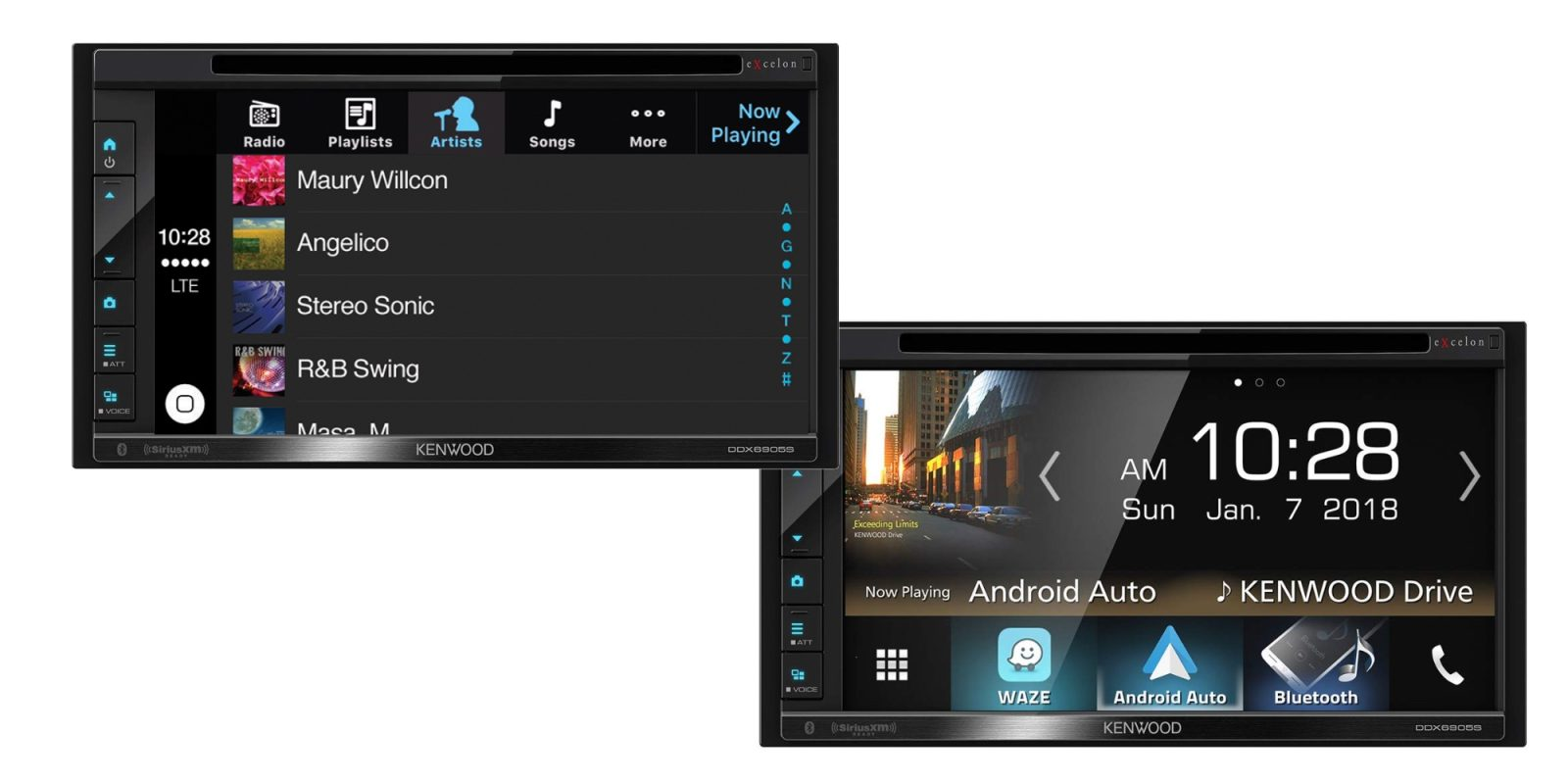 CarPlay + Android Auto arrive with Kenwood's 6 8-inch