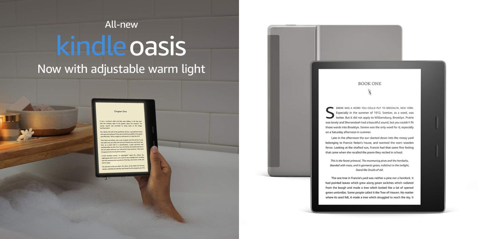 New Kindle Oasis channels Apple's True Tone displays - 9to5Toys