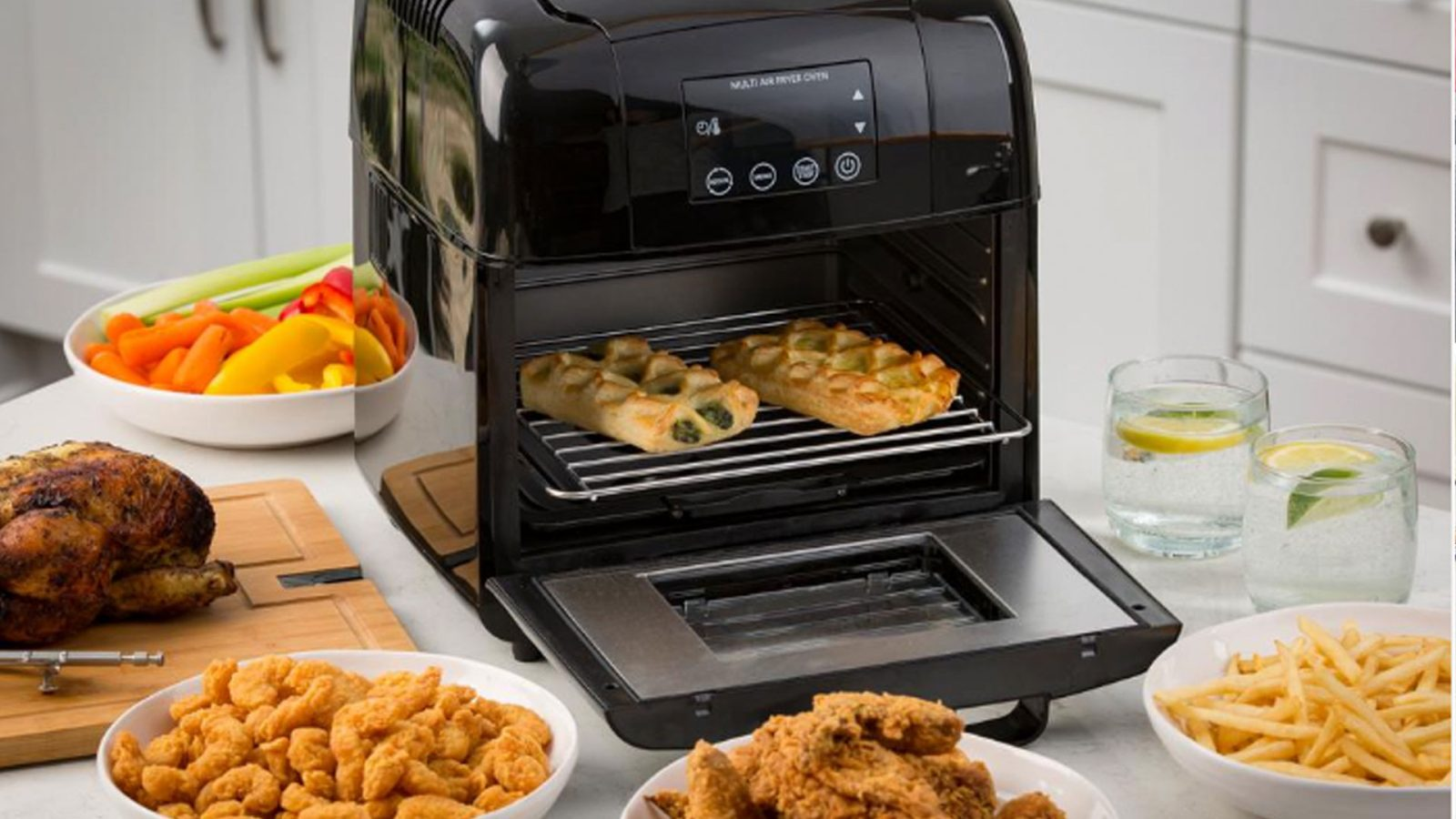 Cook wings, french fries, & more in a 10-quart air fryer: $93.50 (Reg. $160+)