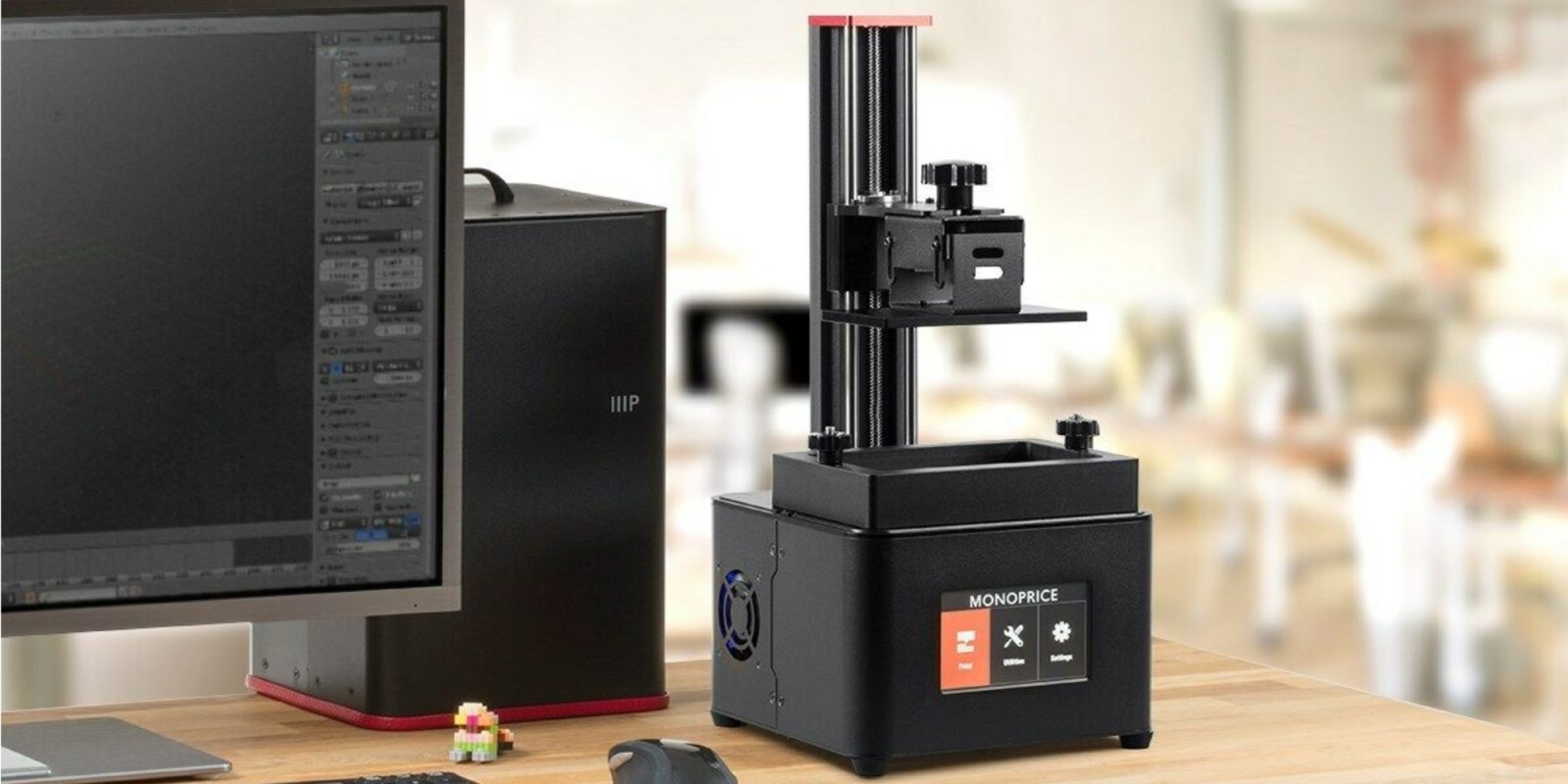 Take 42% off Monoprice's MP Mini Deluxe SLA 3D Printer at a new low of $288