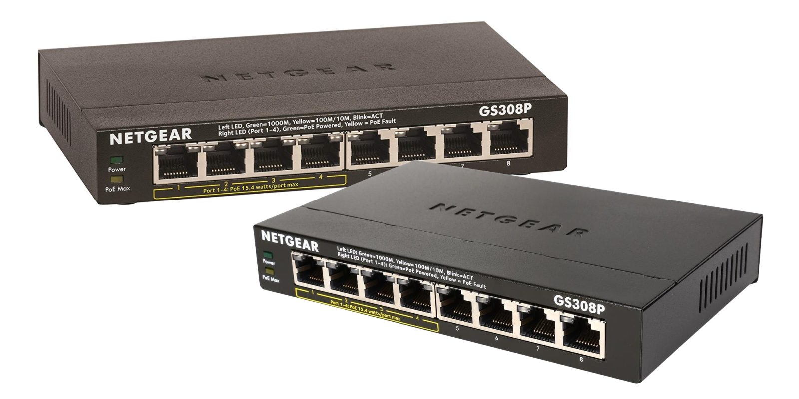 Power cameras, more w/ NETGEAR's 8-Port 55W POE Switch at $45 (Reg. up to $85)