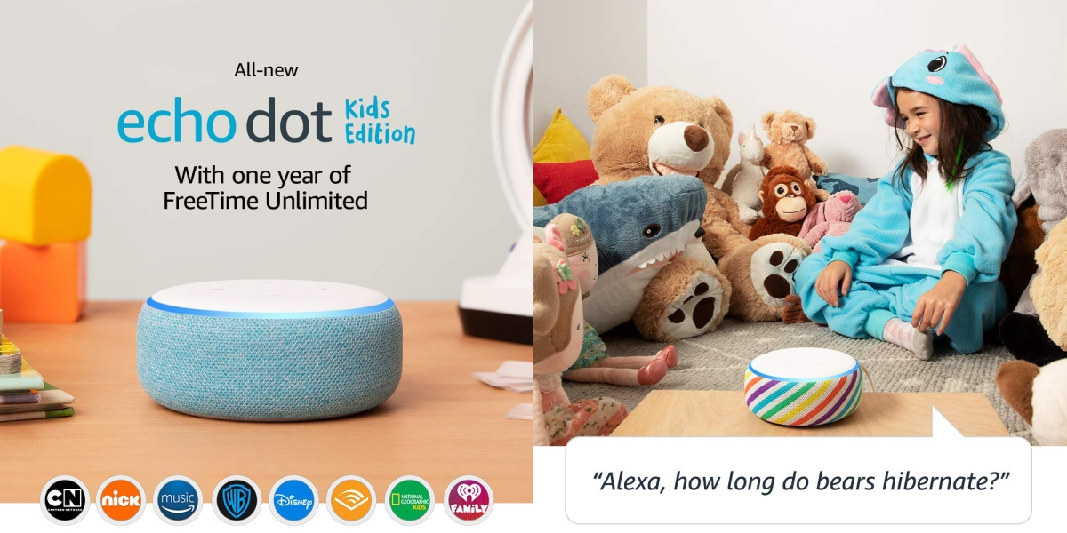 New Echo Dot Kids Edition features