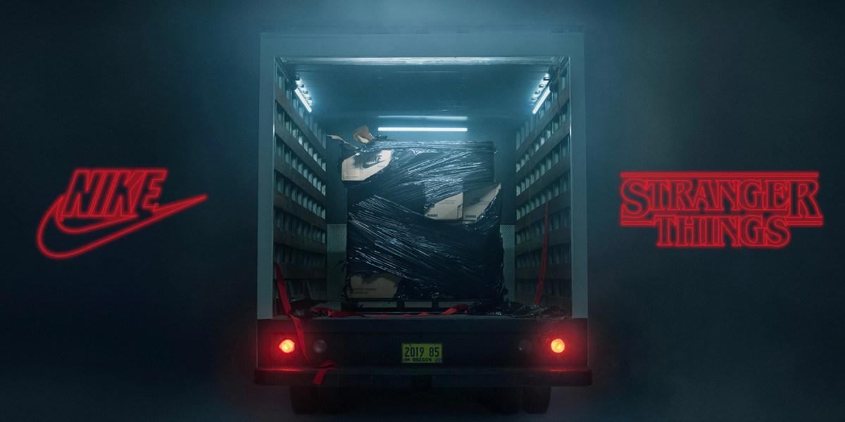 Nike x Stranger Things collab