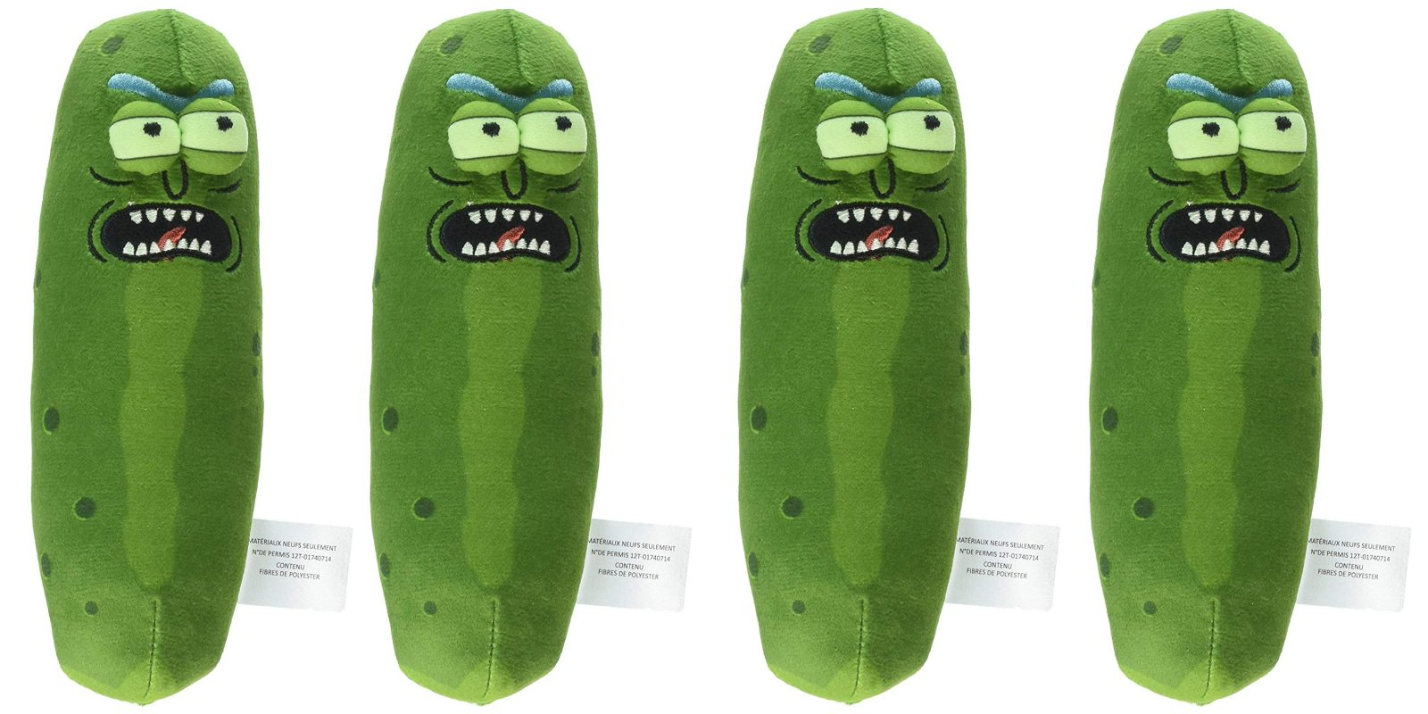 Bring home your very own Annoyed Pickle Rick at only $7 Prime shipped