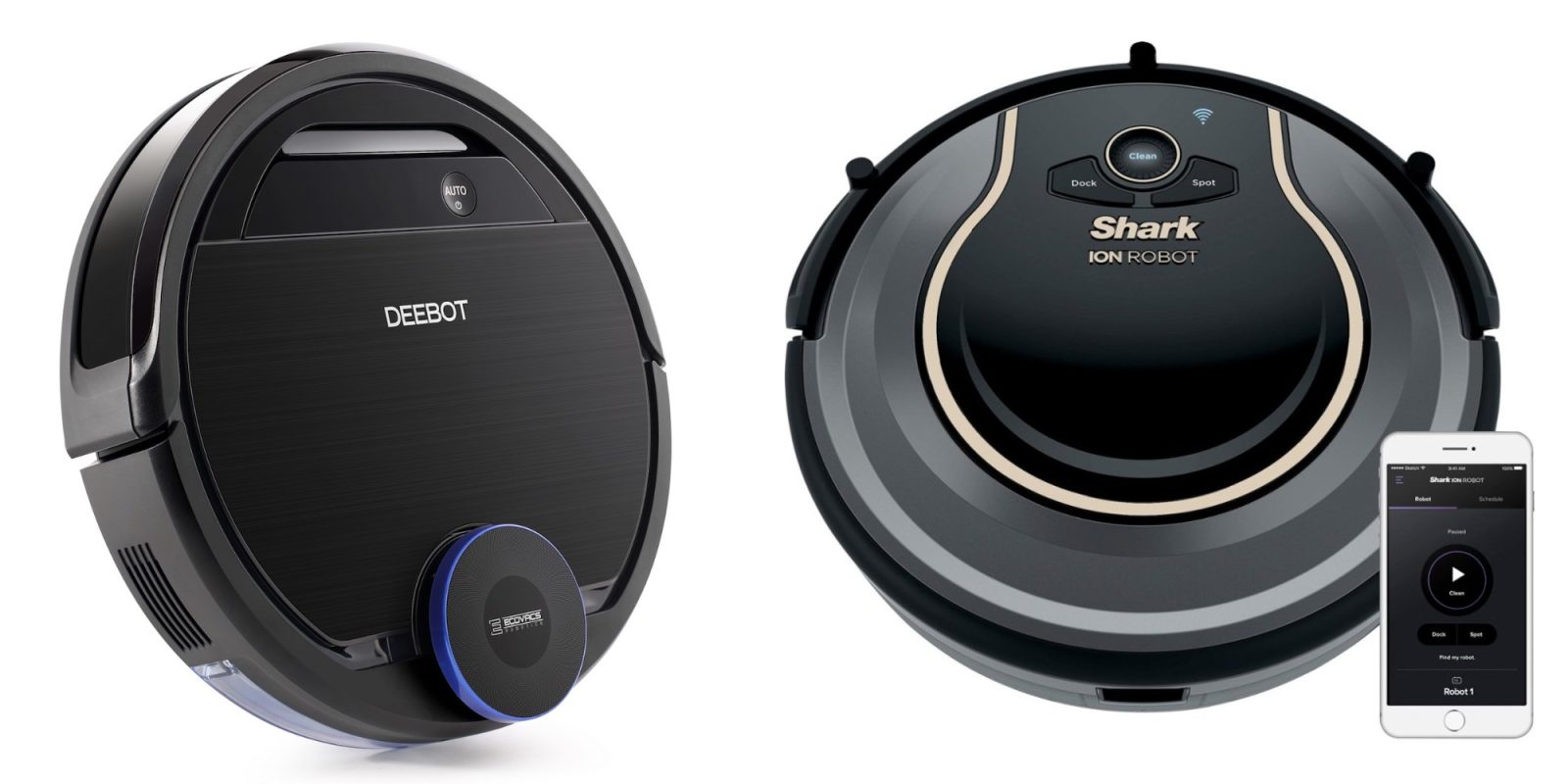 Let these smart robotic vacuums clean up the mess from $223 (Up to 40% off)