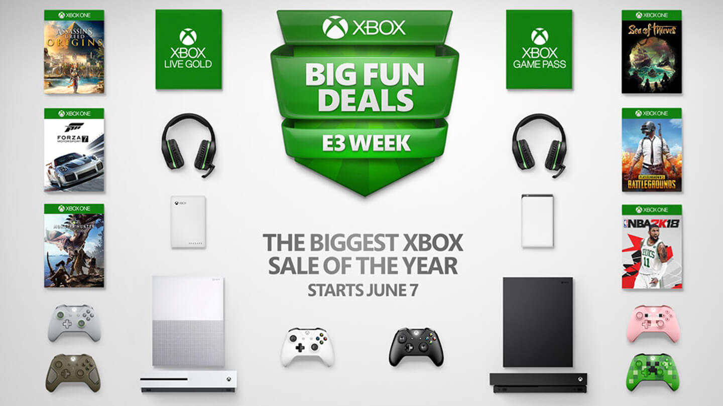Summer Xbox sale starts early!