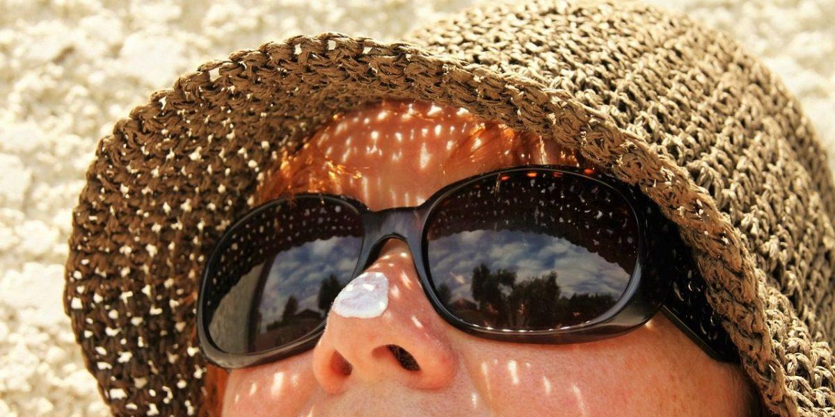 travel skincare essentials include sunblock