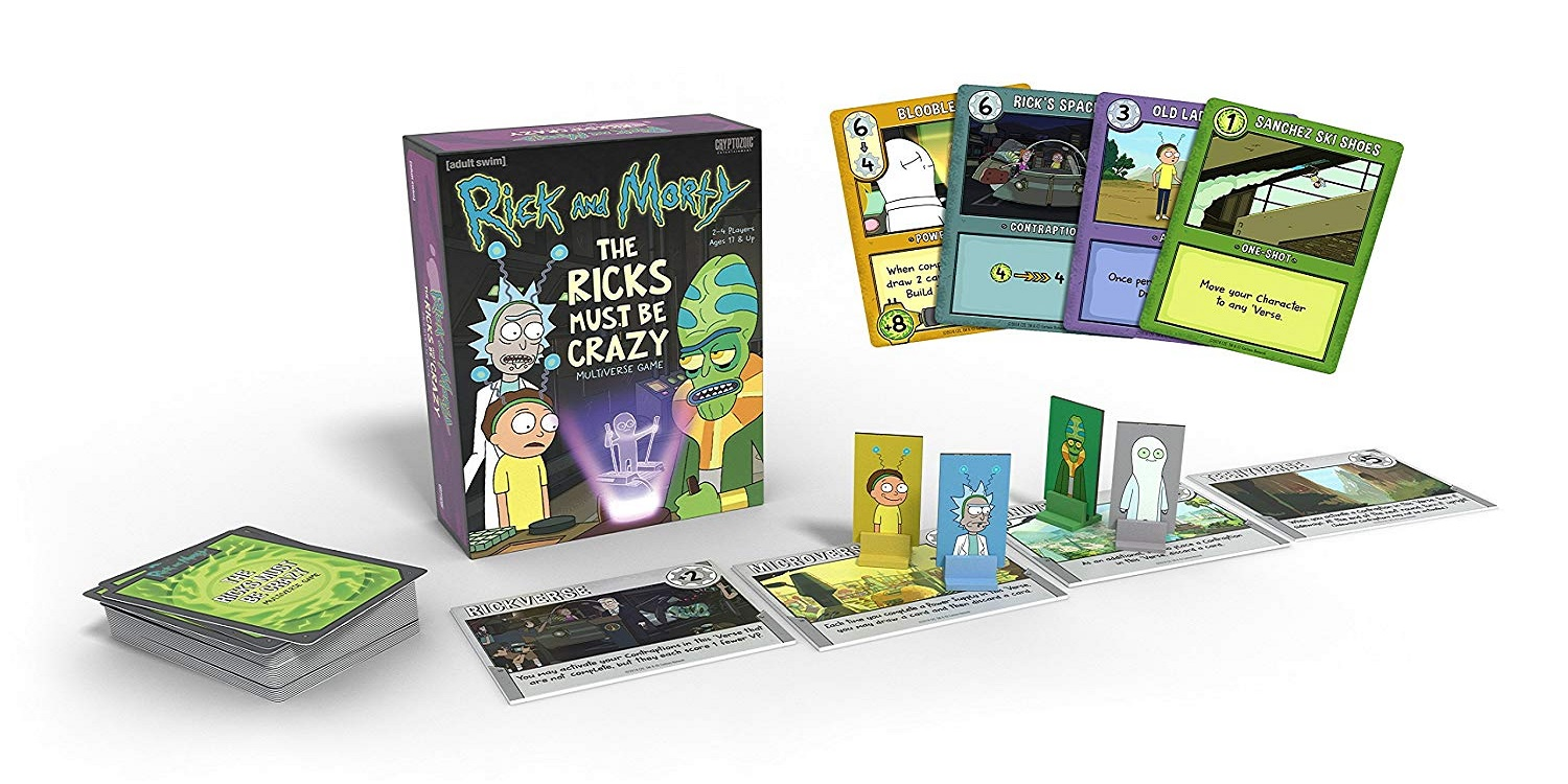 Fight alien parasites in the Rick and Morty Card Game for $10 (50