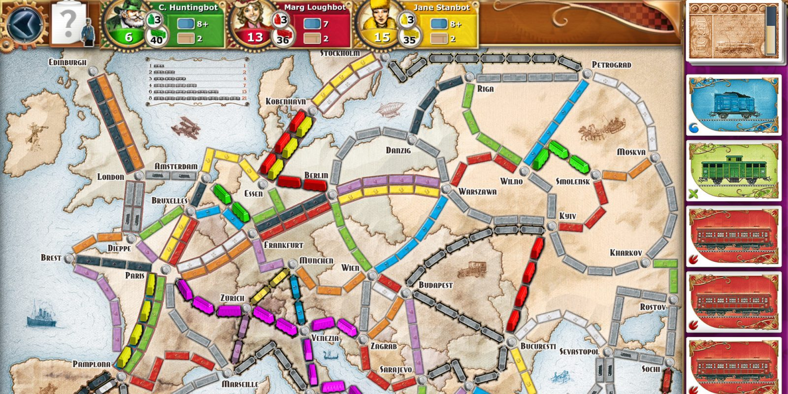 Ticket to Ride for iOS now matching lowest price in years at $2 (Reg. $5)