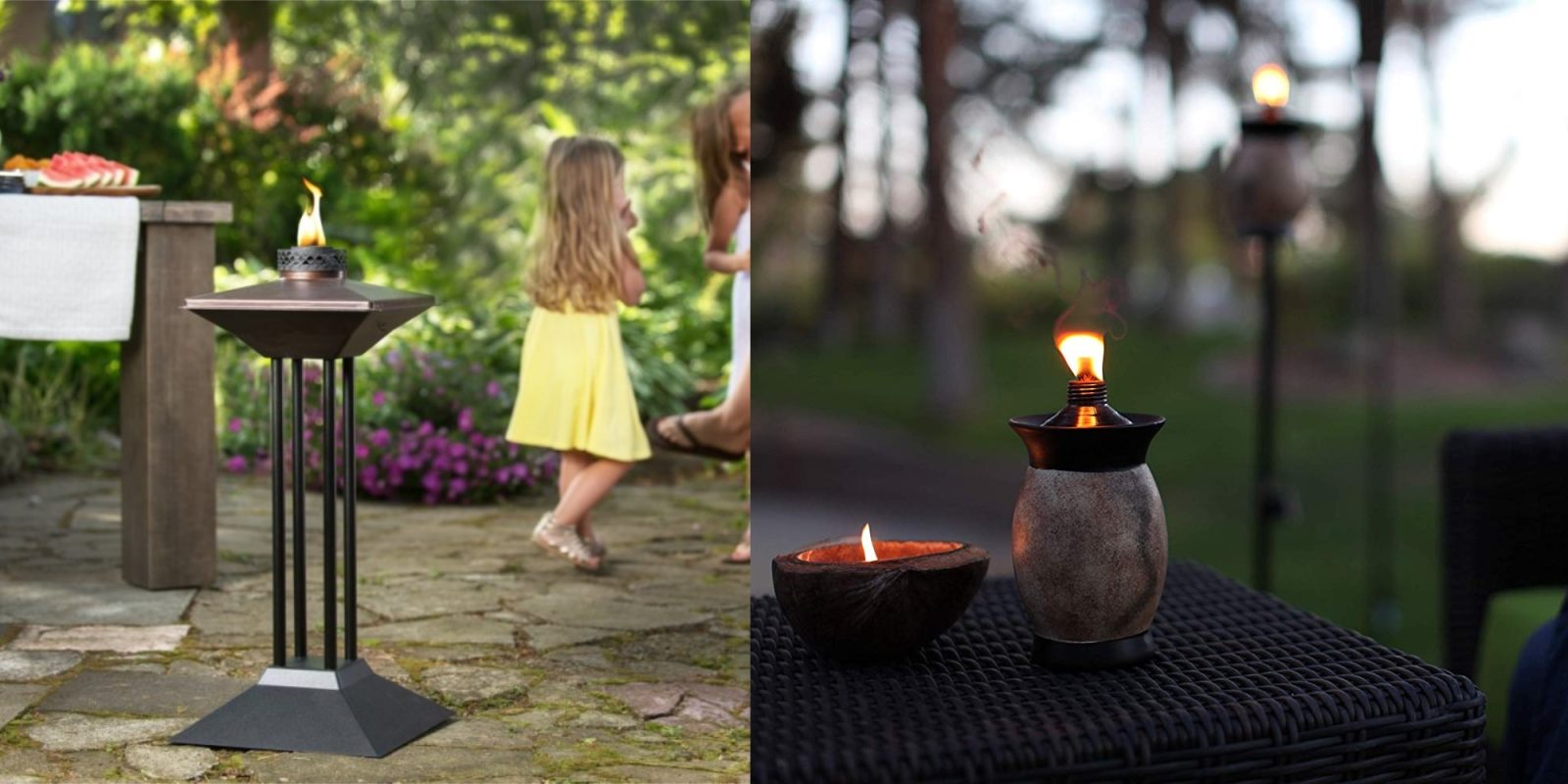 Outfit your patio with tiki torches at up to 25% off in Amazon's Gold Box