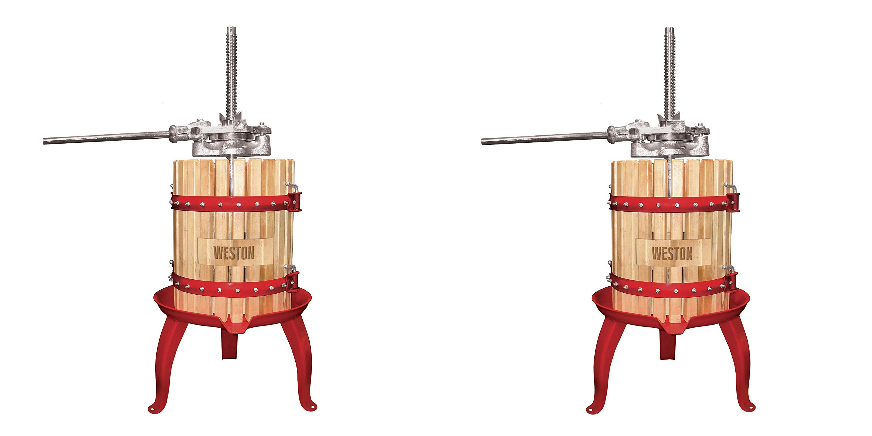 Enjoy homemade juice & wine w/ this Weston Fruit Press at $160 (Reg. $250+)