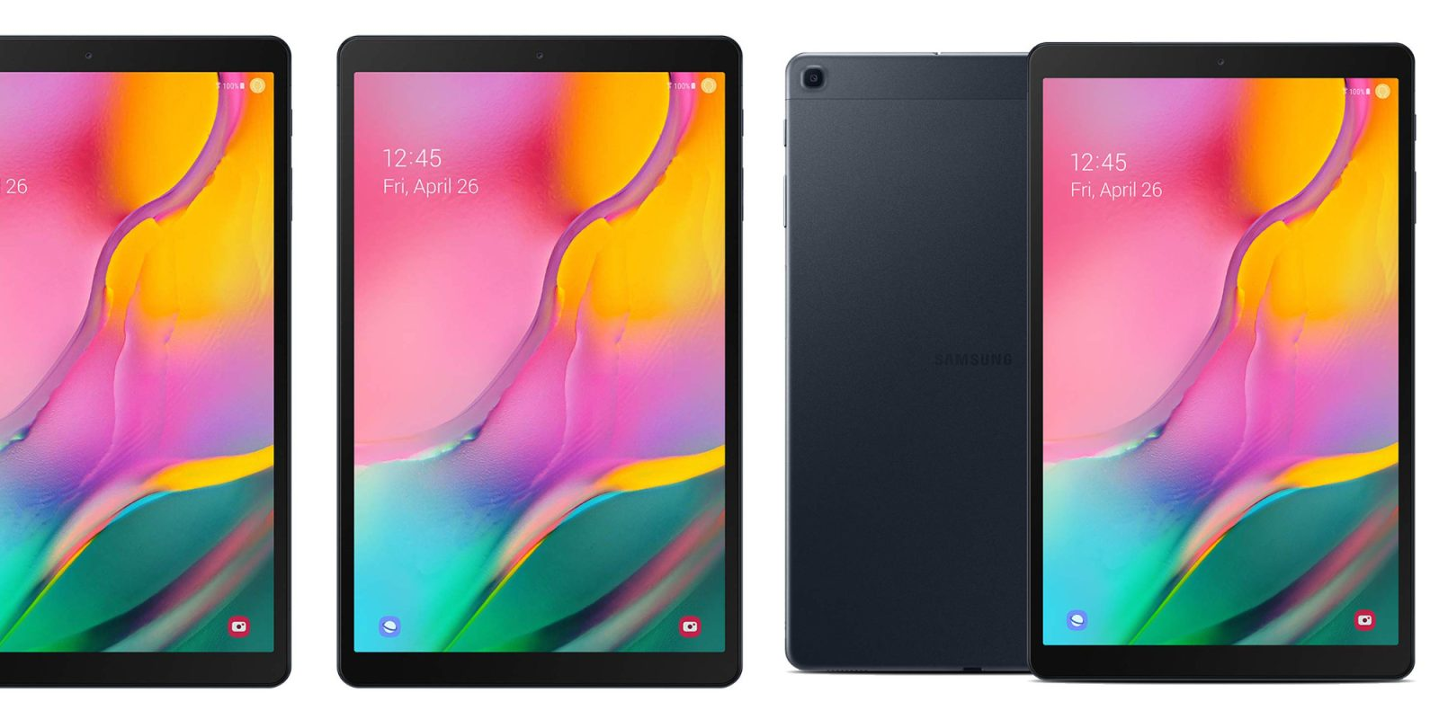 samsung 39 s 2019 galaxy tab a 10 1 inch 128gb drops to 250. Black Bedroom Furniture Sets. Home Design Ideas