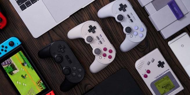 8Bitdo Sn30 Pro+ Gamepad