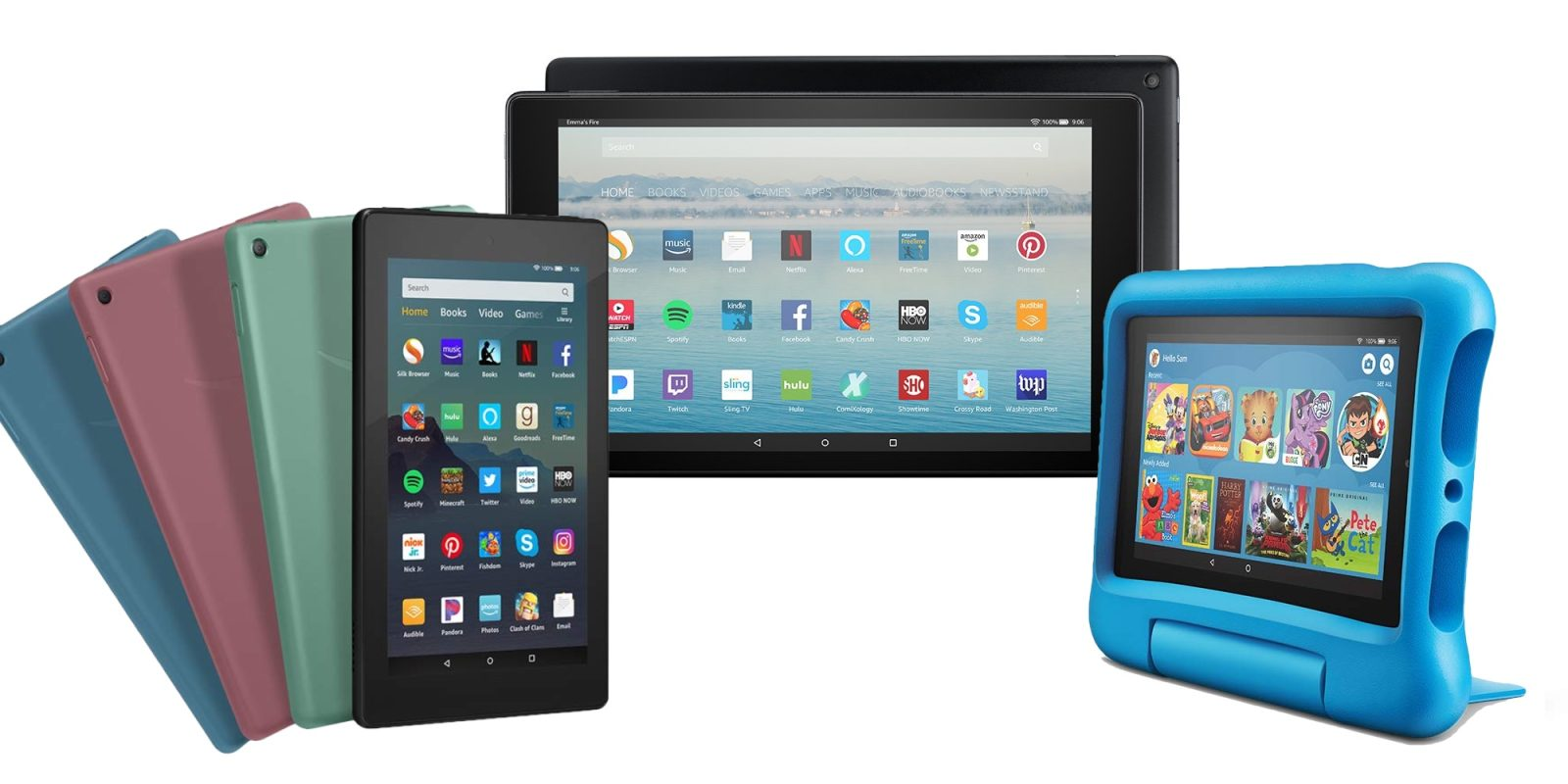 Amazon takes up to $120 off Kindle Fire tablets in Prime Day sale