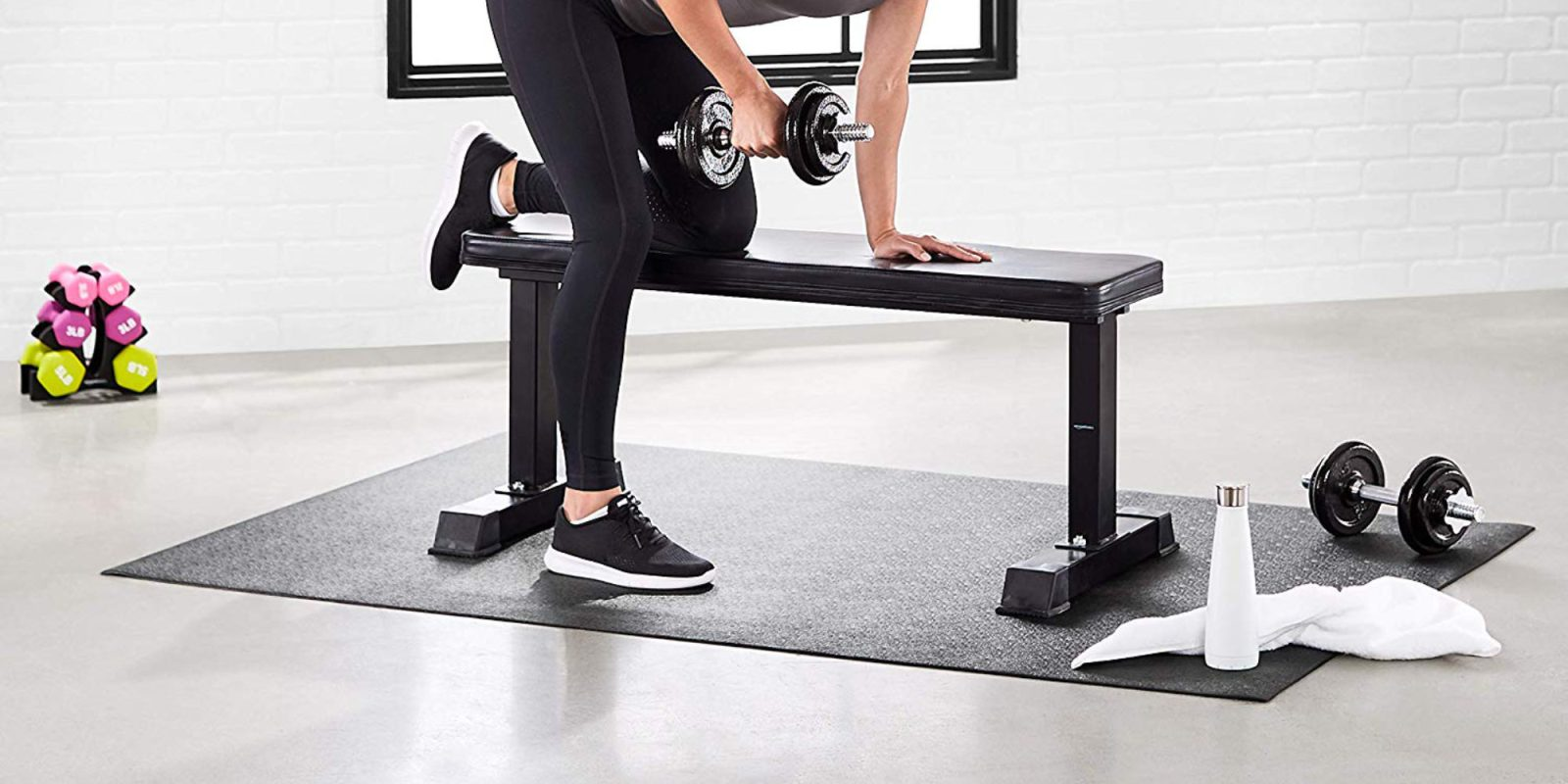 Protect floors with Amazon's Exercise Equipment + Treadmill Mat: $35 (Save 50%)