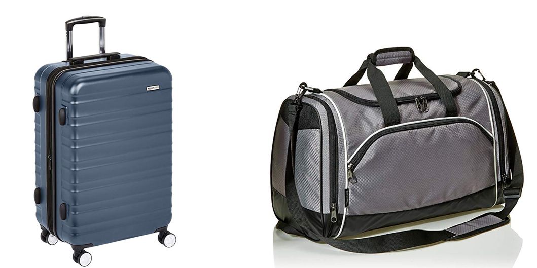 AmazonBasics Luggage Sale cuts up to 35% off hardside sets, duffels and more