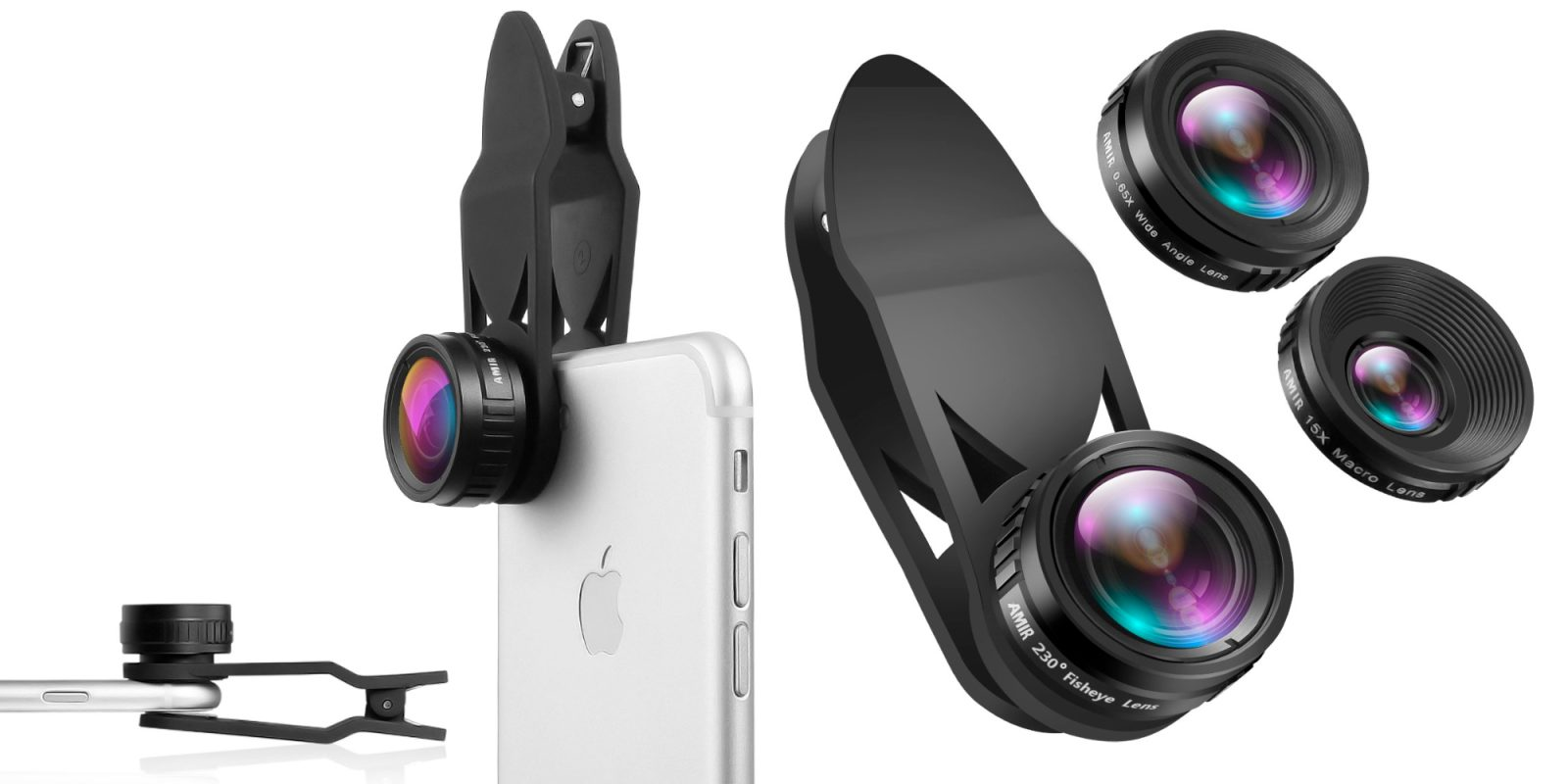 Save 60% on this must-have 3-in-1 iPhone Lens Kit, now just $5 Prime shipped