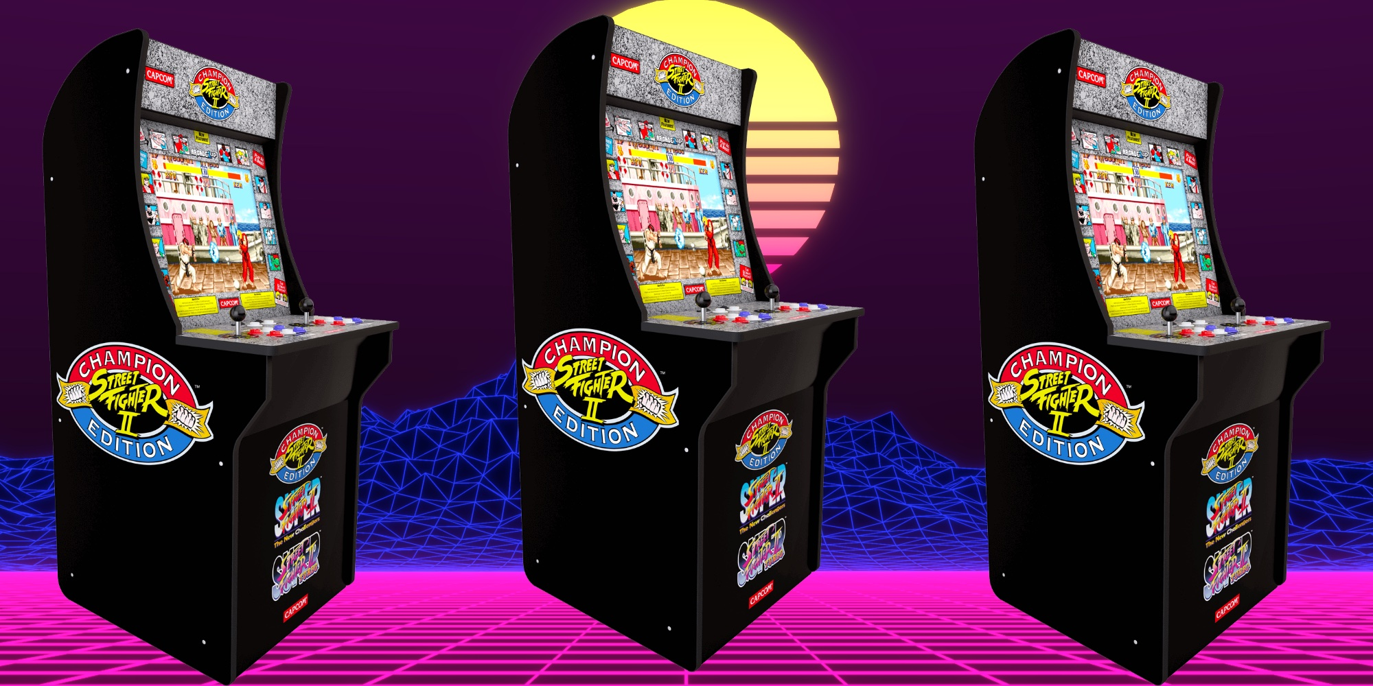 Score A New Low On Arcade1up S Street Fighter 2 Cabinet At 199