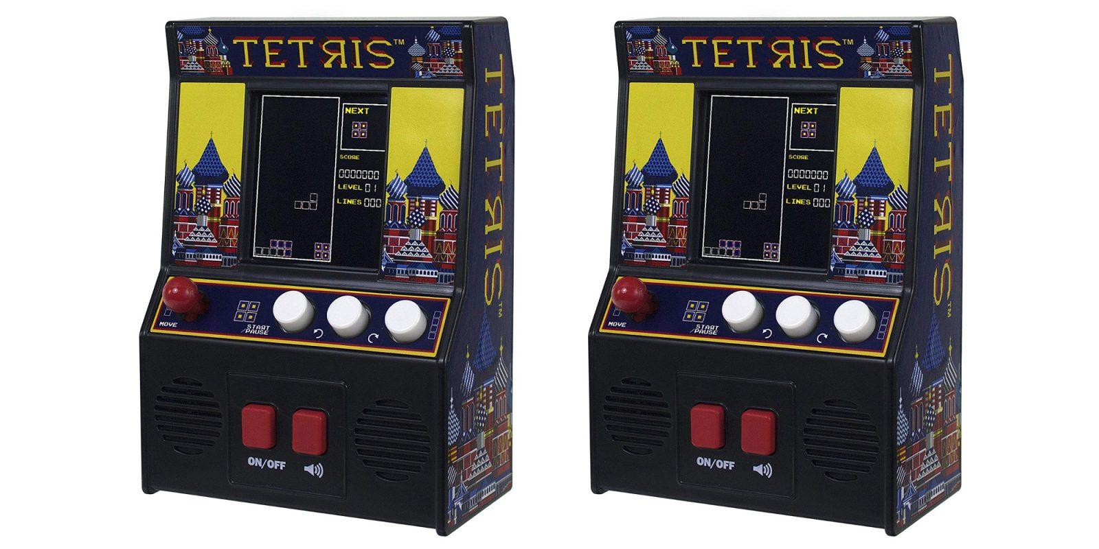 Put a mini Tetris arcade machine in your pocket for $8.50 (Reg. $16+)