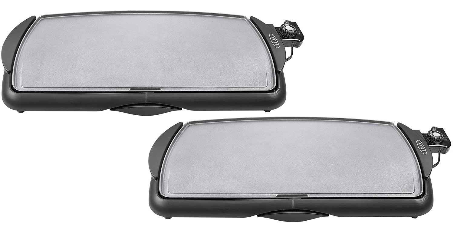 This ceramic griddle cook top with temp control is just $15 for today only