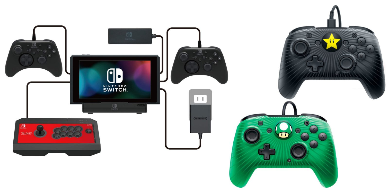 Black Friday in July Nintendo Switch controllers, hubs, more