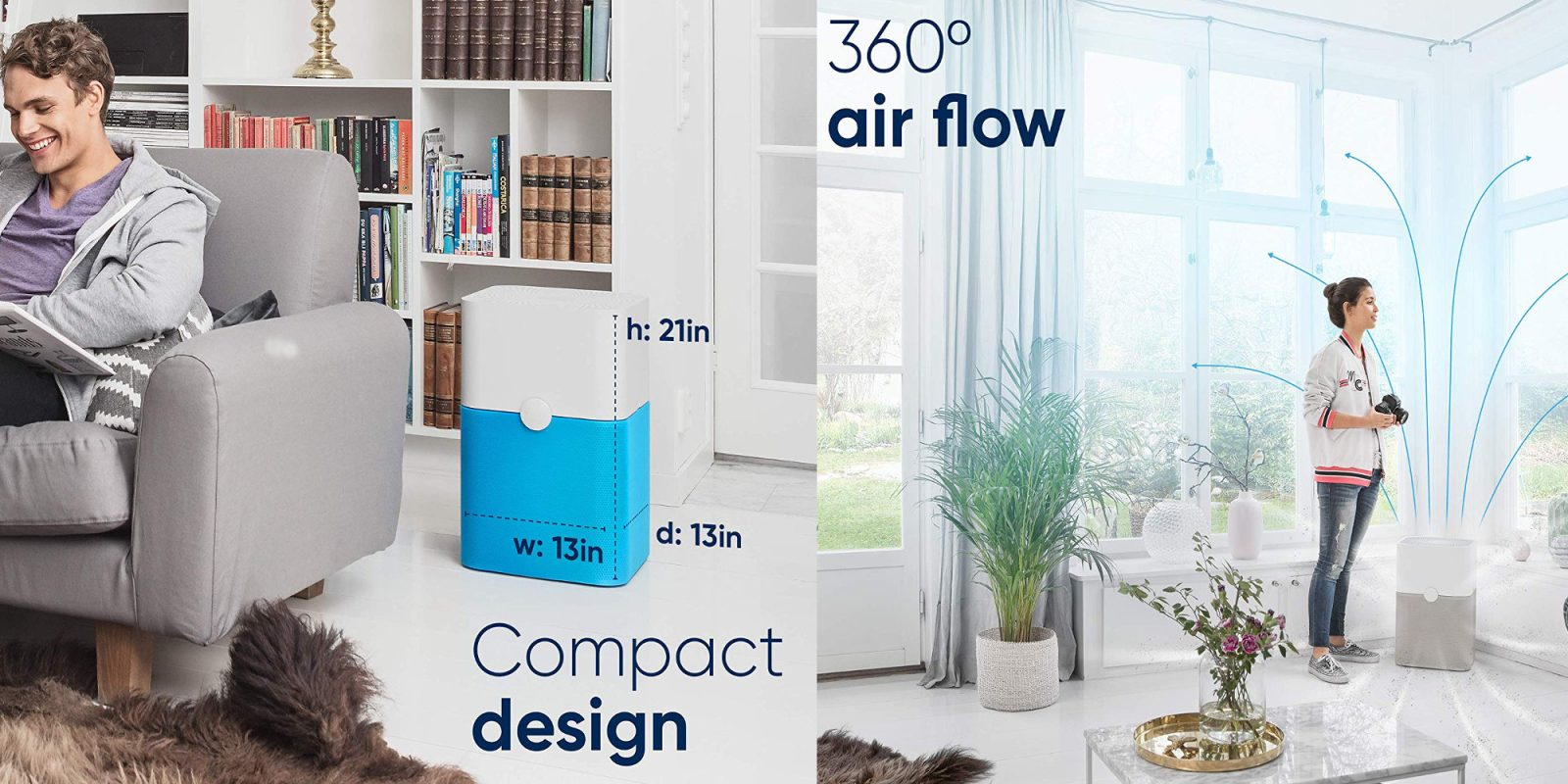 The Blue Pure 211+ Air Purifier is up to $100 off at Amazon, now $199 shipped