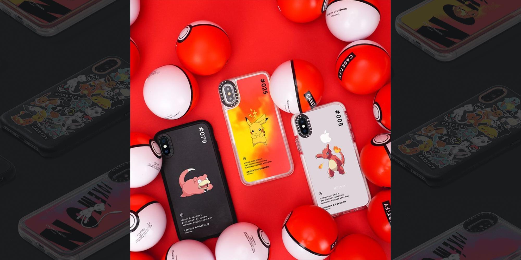 CASETiFY Pokémon iPhone Cases