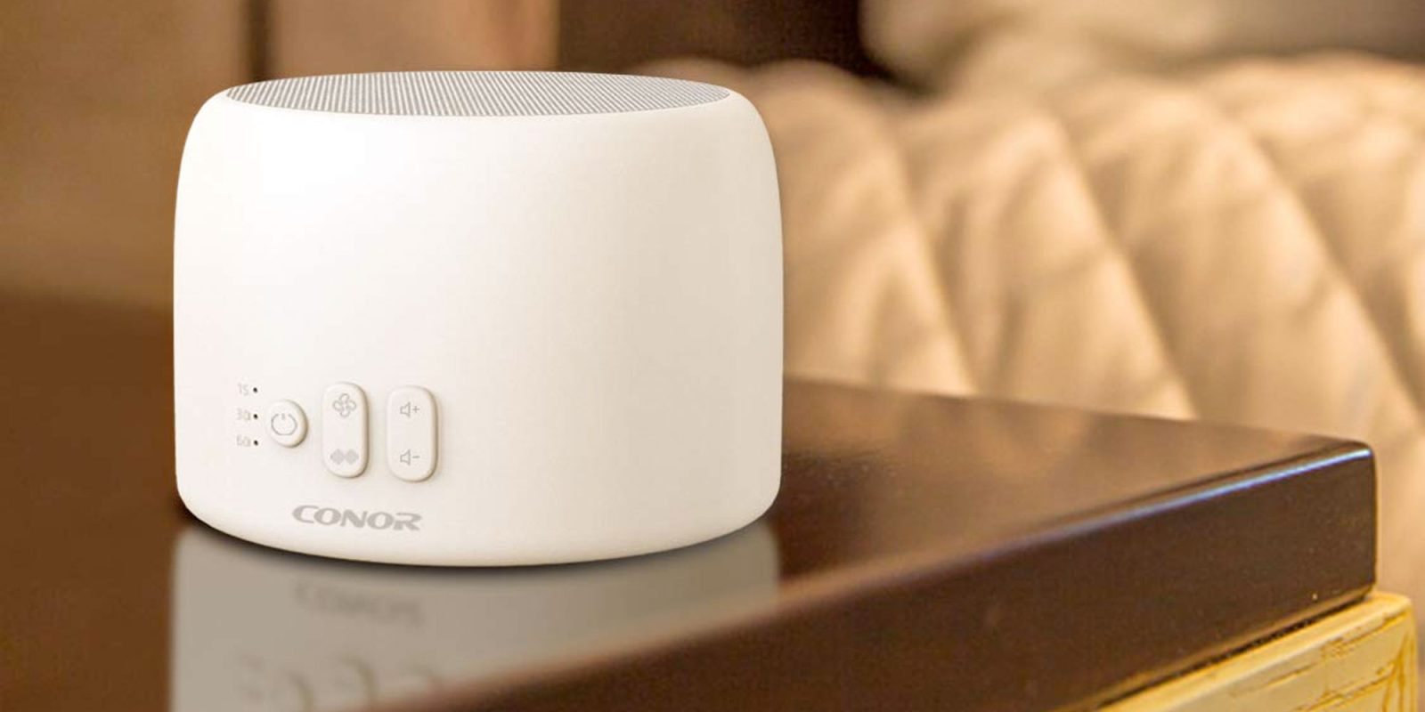 Save $10 on a white noise machine that also charges your iPhone at $26