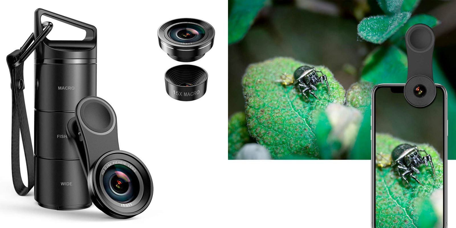 For $9 Prime shipped, every iPhone photographer needs this 3-in-1 lens kit