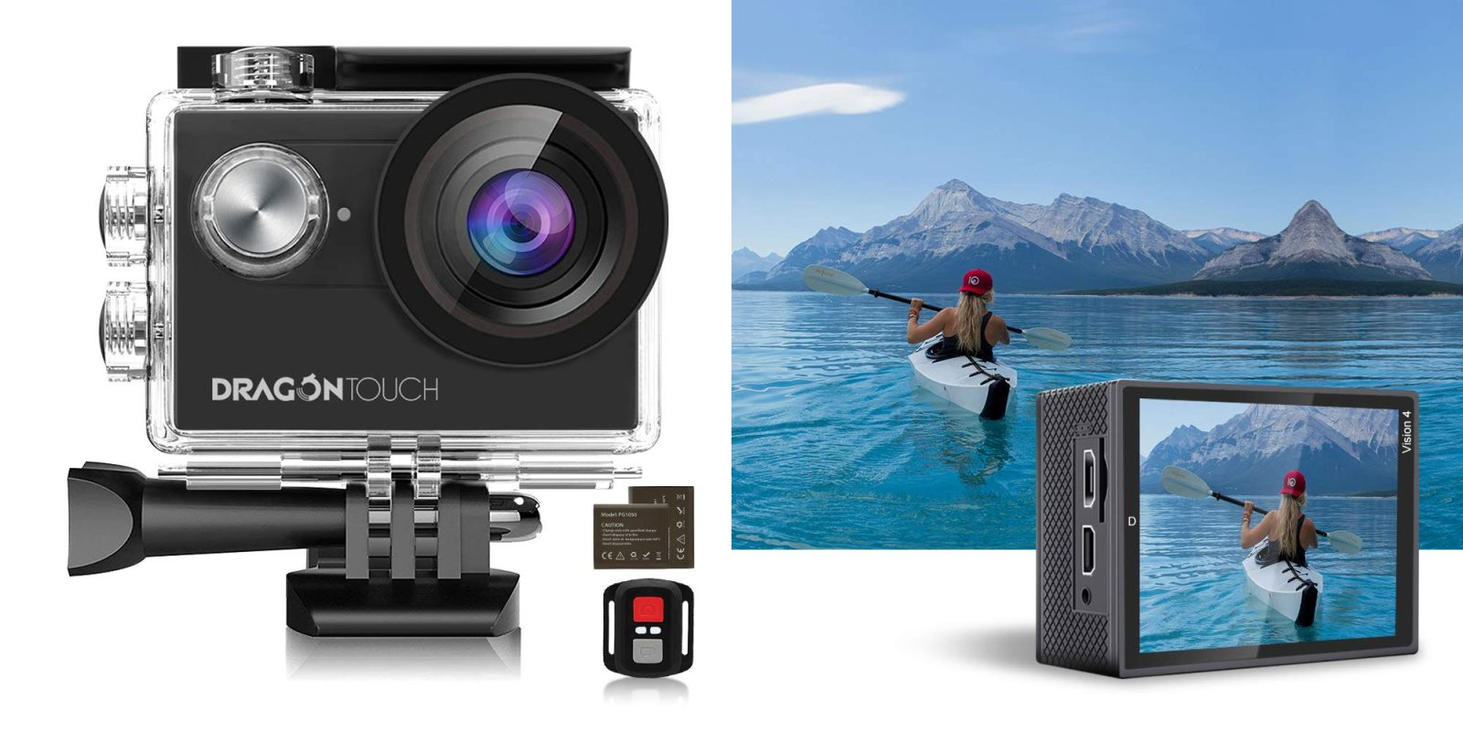 Don't spend hundreds on a GoPro when this 4K waterproof action camera is $39