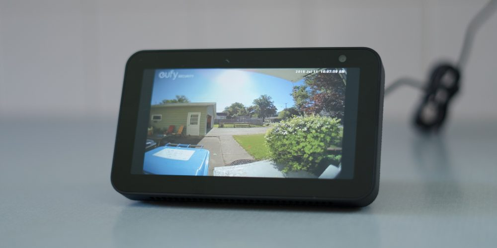 Echo Show 5 Eufy Video Doorbell Skill