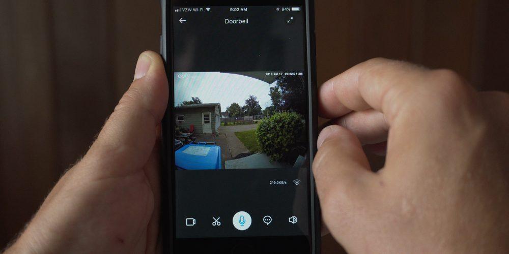 eufy security app video doorbell