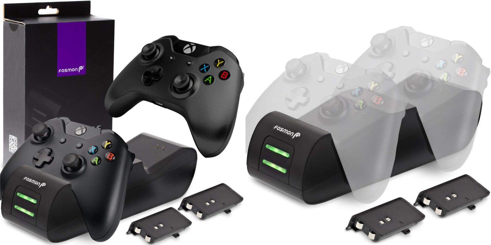 Keep organized with this Xbox One Controller Charging Station: $11.50 (50% off)