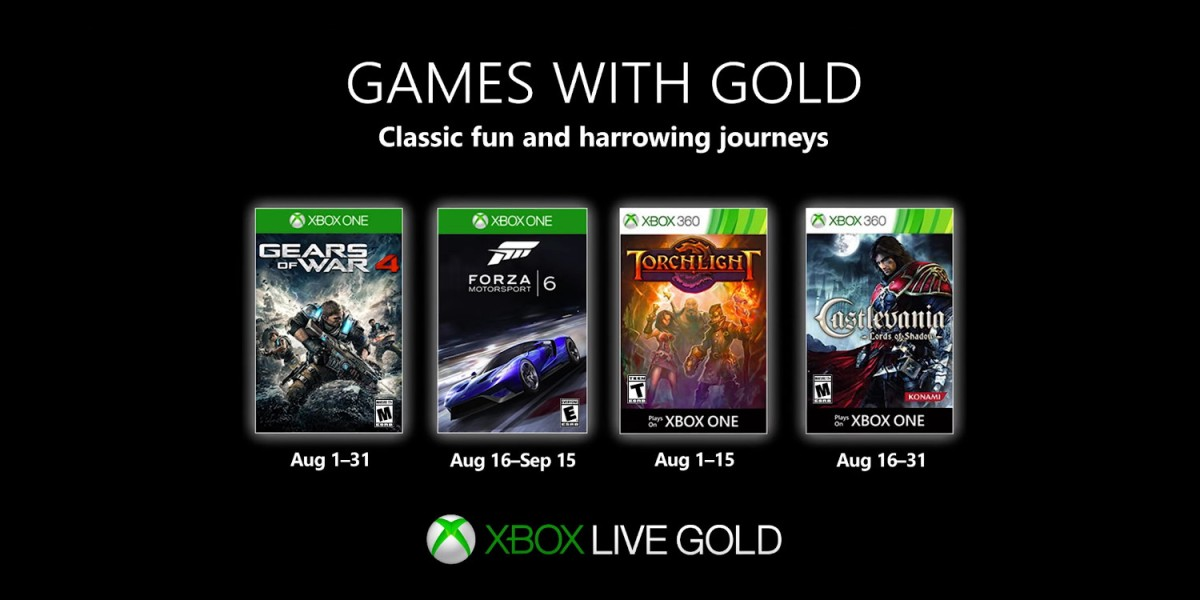 Free Games with Gold including GOW 4