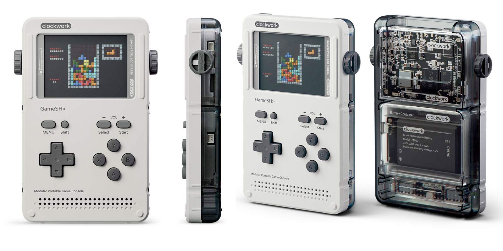 GameShell is a portable and modular DIY retro game console