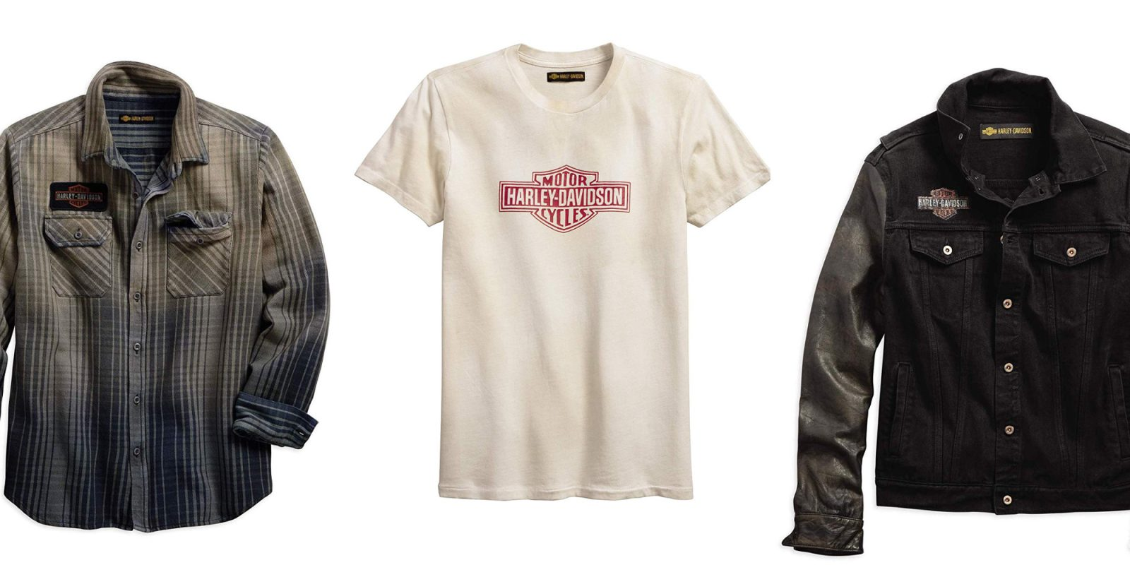 Harley-Davidson gear up to 35% off: T-shirts, leather jackets, more from $16