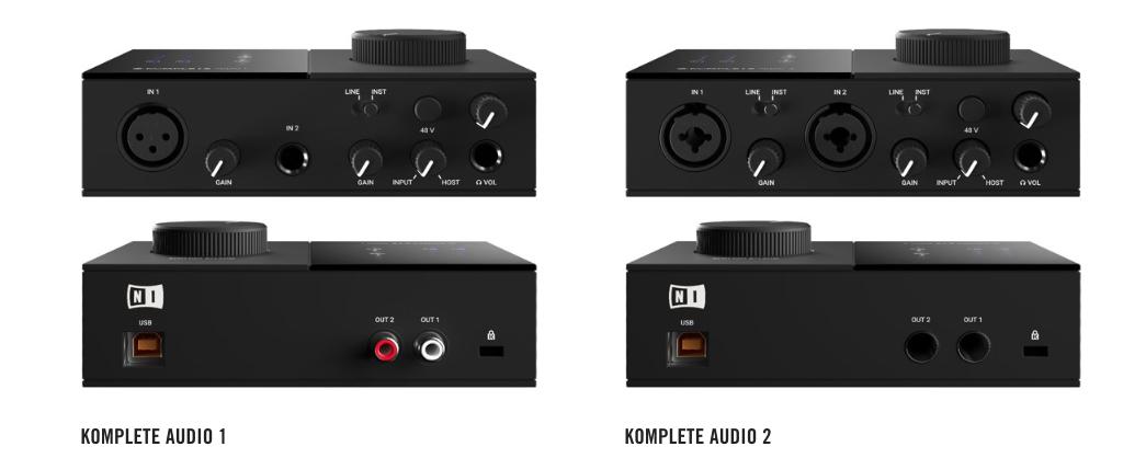 Komplete Audio 2 comparison
