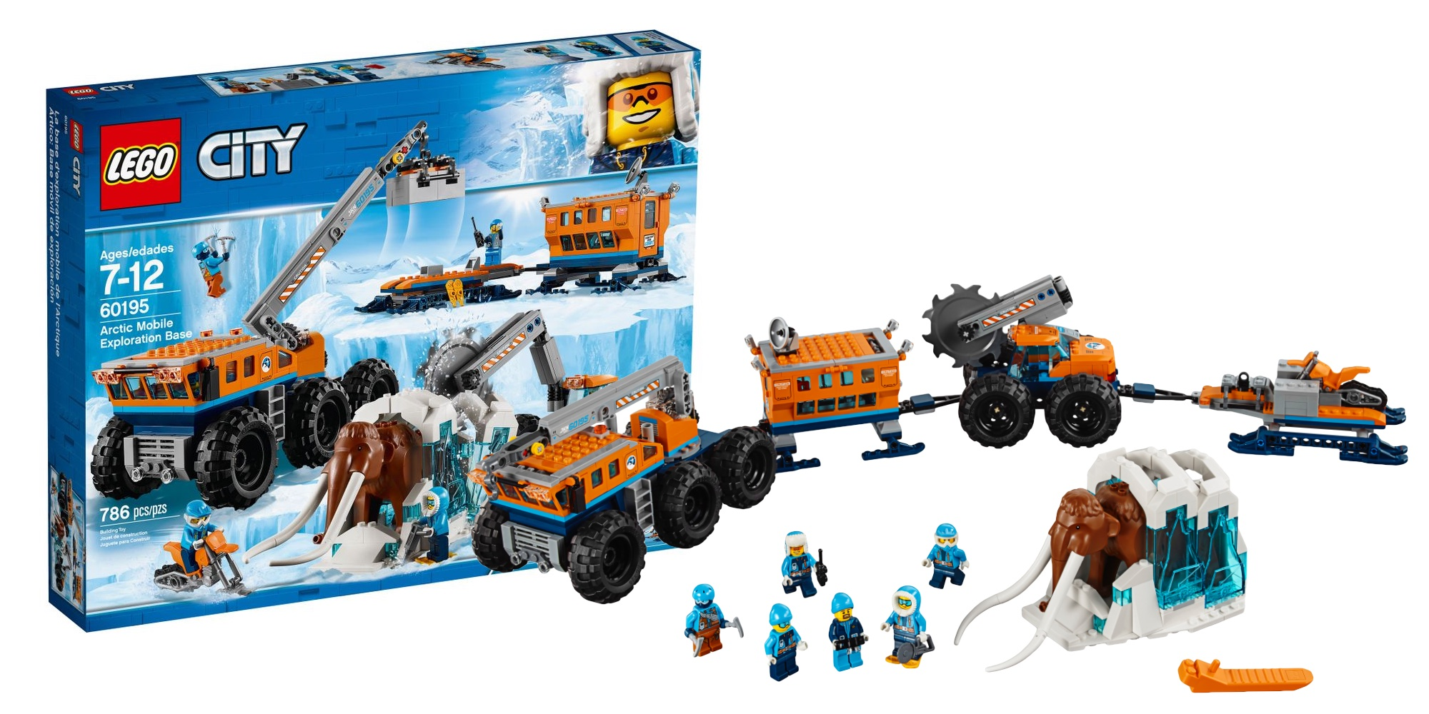Assemble a new low on LEGO's Arctic Exploration Base at ...