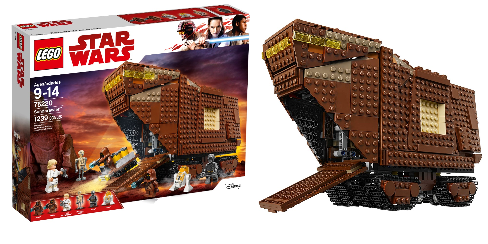 LEGO Star Wars Sandcrawler falls to best price in 2019 at