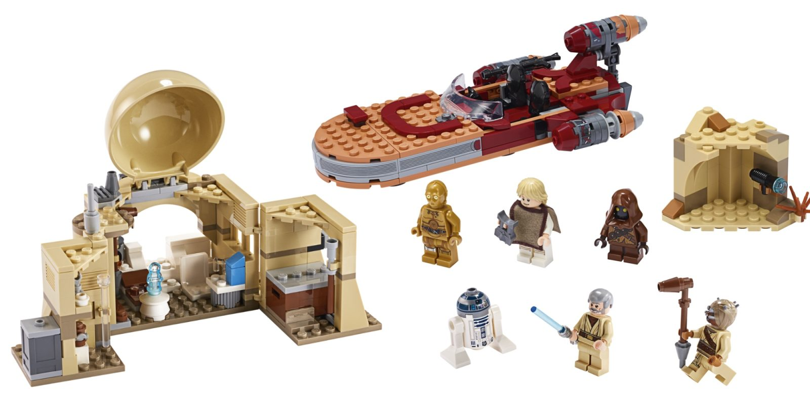 LEGO travels to Tatooine with the debut of two new Star Wars Comic-Con sets