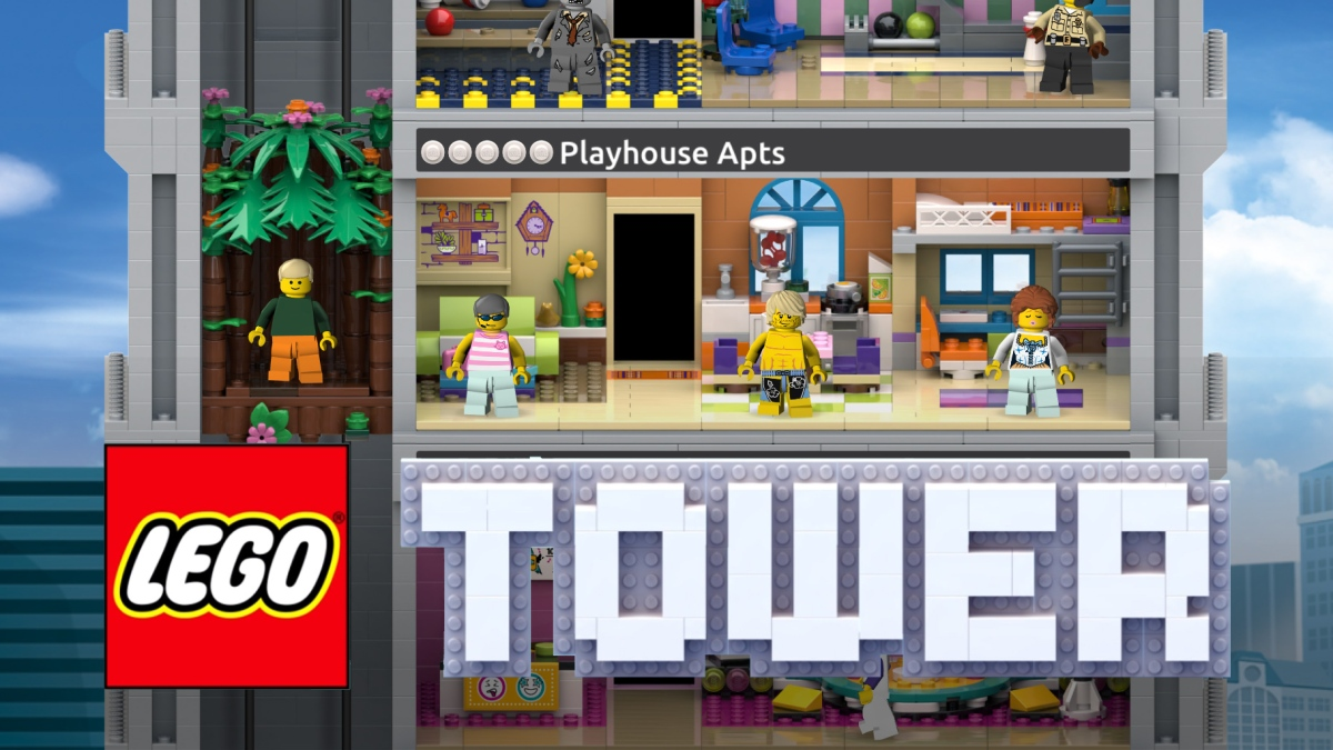LEGO Tower out now!