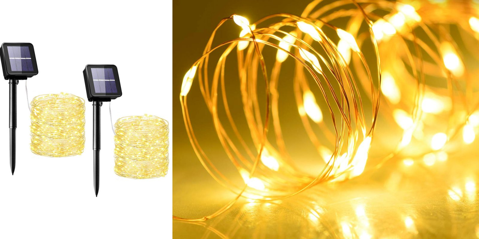 Use these solar string lights to upgrade your outdoor space for just $10