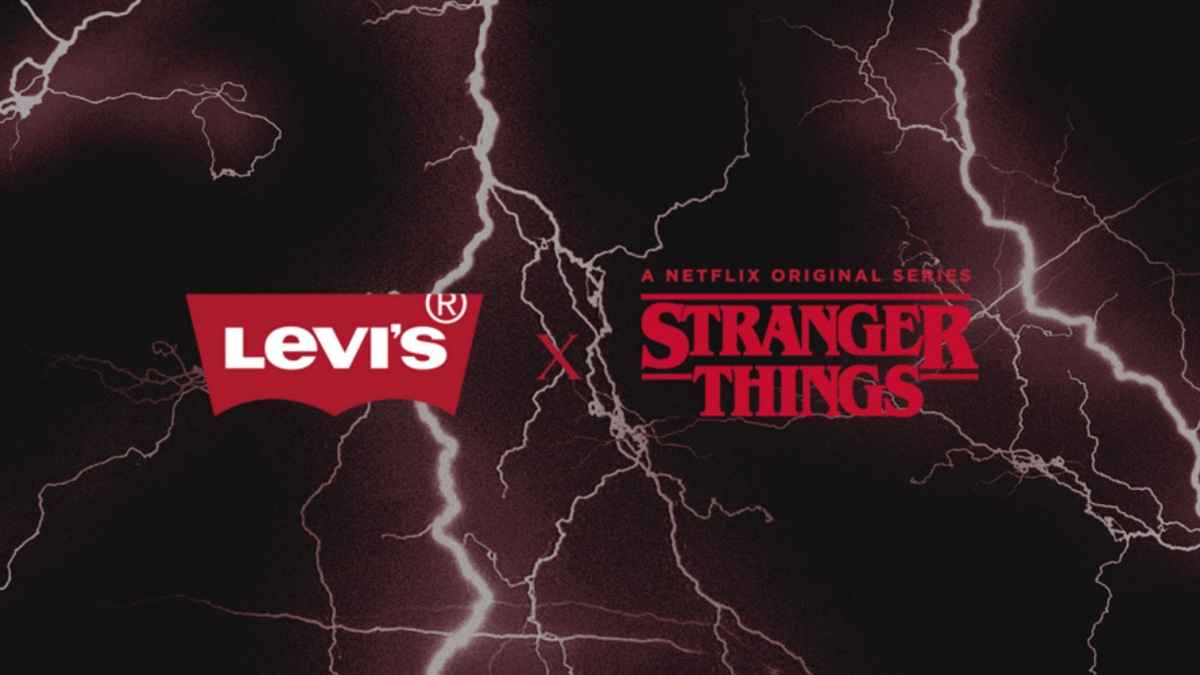 Stranger Things Levi's Collection