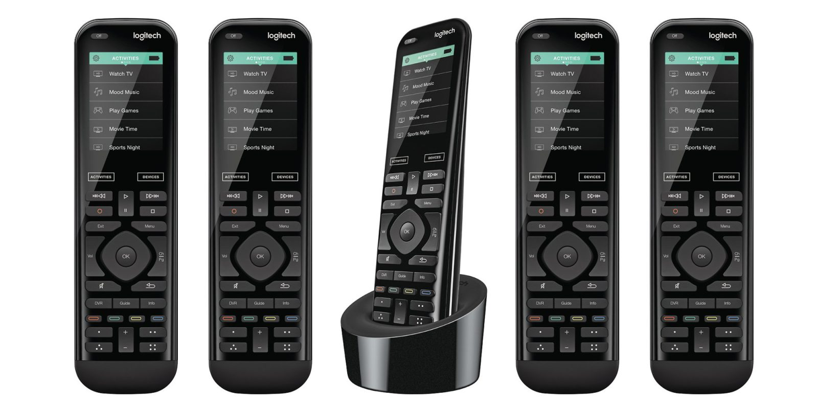 Ditch all the remotes! Logitech Harmony 950 with touchscreen $175 (Reg. $225+)