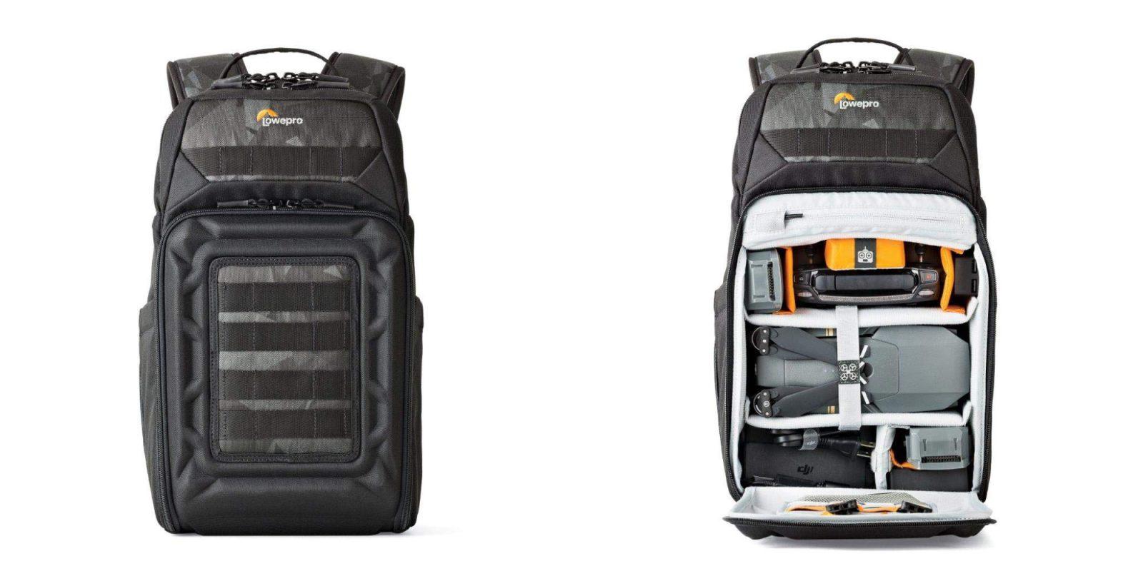 The Lowepro DroneGuard Backpack will properly tote DJI's Mavic: $35 (Reg. $60)