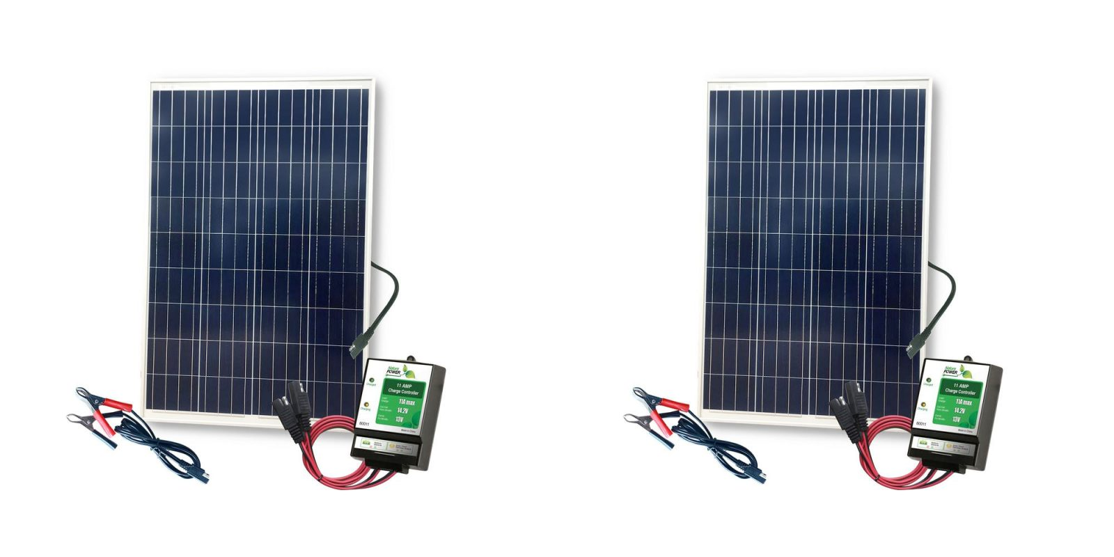 Charge up on the lake with this 100W Complete Solar Kit for $89 (Reg. $125+)