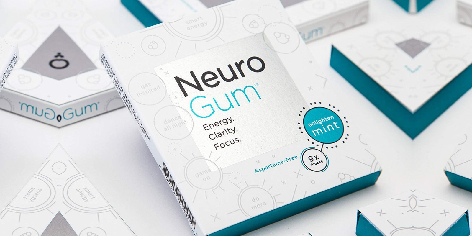NeuroGum with caffeine and B12 keeps you sharp all day: 12-pack $30 (25% off)